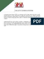 Chemchlor Scm Auto Dosing System Spec 2019