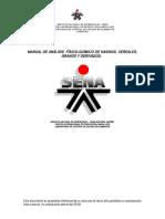 Protocolos Para El Analisis Fisico-quimico de Productos de HARINA Y CEREALES