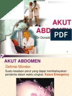 3. Akut Abdomen