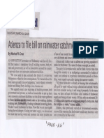 Manila Standard, Mar. 14, 2019, Atienza to file bill on rainwater catchment facilities.pdf