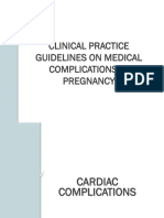 Cpg Medical Complications