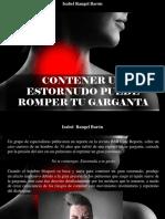 Isabel Rangel Barón - Contener Un Estornudo Puede Romper Tu Garganta