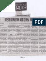 Philippine Daily Inquirer, Mar. 14, 2019, Duterte untervention fails to break budget deadlock.pdf