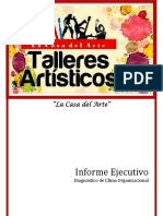 Informe Diagnostico Organizacional Talleres Artísticos