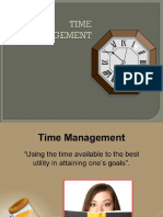 Time Management(Gs)