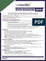 Normes 2019 Presse Mag