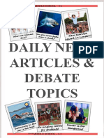 3-1 10 Articles, 10 Debates, Book Report.pptx