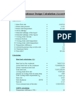 Condenser Design Calculation