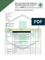 Form Inspeksi Sanitasi Rumah Sehat Fix