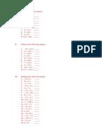 Add the following integers.docx