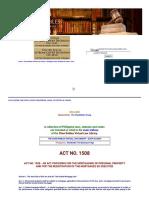 Act No. 1508