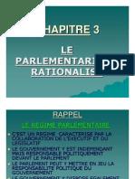 3. Le parlementarisme rationalisé
