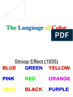 Language of Color
