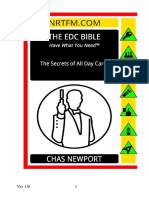 The EDC Bible Secrets of All Day Carry - Chas Newport