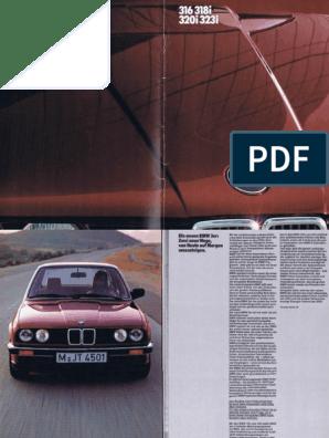 smBMW E30.pdf | Wheeled Vehicles | Motor Vehicle