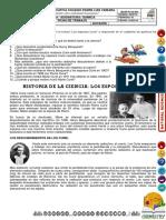 Ficha Los Esposos Curie