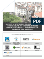 Rapport de Synthese-effondrement Des 63-65-67 de La Rue d Aubagne 13001 Marseille 2019-03-01