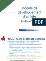 Modèle de Développement d'Athlète