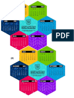 Calendario Hexagonal