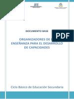 Documento Base_ Organizadores de la enseñanza_2018_Imprimir