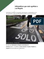 10 de las problemáticas que más agobian a biciusuarios en Bogota.docx