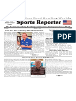 March 6 - 12, 2019  Sports Reporter