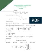 Formulas 1º Parcial