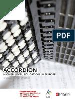 Accordion Higher Level Educationin Europe