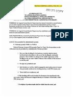 Firearms Sale ordinances