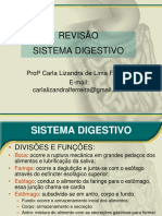 1ª Aula - Revisão Do Sistema Digestivo