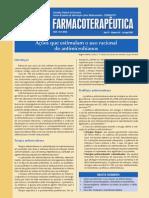 Ações que estimulam o uso racional de antimicrobianos