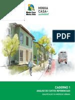 MCMV+SUSTENTAVEL caderno1_analise_de_custos_referenciais.pdf