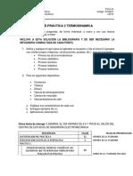 Prepractica 2. Termodinamica