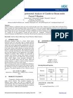 6e1b8f5c46143e2cbf22ba3317ace8e8.Analytical and Experimental Analysis of Cantilever Beam under Forced Vibration.pdf