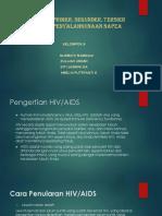 Pencegahan Primer, Sekunder, Tersier HIV
