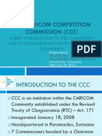 Intro Caribbean Competition Law 18 Feb 2014 Presentation
