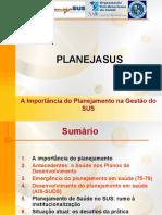 Planejasus Importancia Planejamento Sus
