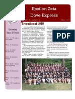 Fall 2010 SK Newsletter