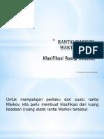 Klasifikasi_Ruang_Keadaan_Rantai Markov_diskrit