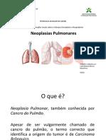 Neoplasias Pulmonares PowerPoint (1)