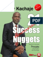 Success Nuggets eBook. Promotion