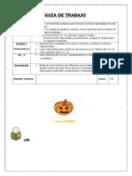 Actividades Halloween Lista