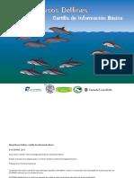 Maravillosos Delfines. Cartilla Con Informacion Basica. ACOREMA-2013