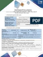 Guía de actividades y rúbrica de evaluación - Fase 2 - Identificar los conceptos fundamentales para sistemas de administración del agua.docx