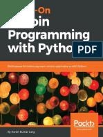 Garg h k Hands on Bitcoin Programming With Python Build Powe
