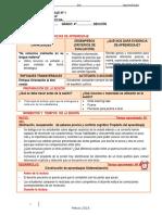 SESIONES DE APRENDIZAJE.CUARTO GRADO.docx
