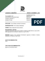Adamson High School Designation Report
