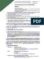Homologación de Título en España