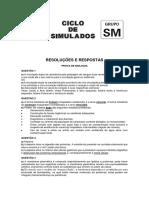 Ciclo de Simulados Prova de Conhecimentos Específicos Grupo Sm