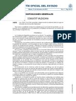 Ley integral vilencia de género Comunidad Valenciana